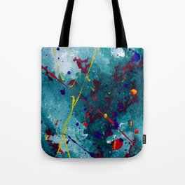 Fireworks: Night Tote Bag