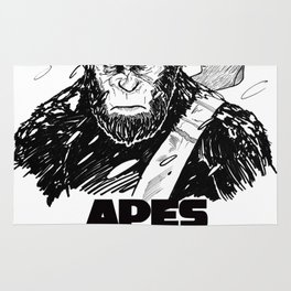Caesar: Apes Together Strong Rug