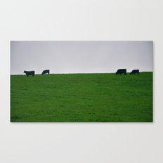 Minimal Cows Canvas Print