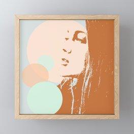 Lucilla Framed Mini Art Print