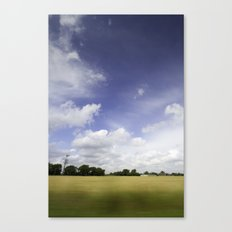 It's all just a crazy blur to me Canvas Print