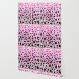 All Stars...Galaxy Pink Wallpaper