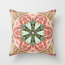 Mandalas of Forgiveness & Release 7 Throw Pillow