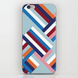Herringbone Pattern iPhone Skin
