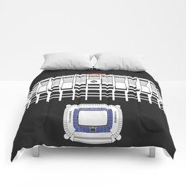 Santiago Bernabéu - Real Madrid Stadium  Comforters