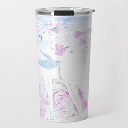 Lavender | Granatovych Artwork | Oils on Water and Watercolors Travel Mug