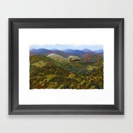 Mountain Music Framed Art Print