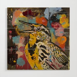 Meadowlark Wood Wall Art