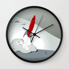 Blast Off (Tommy & The Rocket) Wall Clock