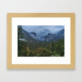 Yosemite Tunnel View Framed Art Print