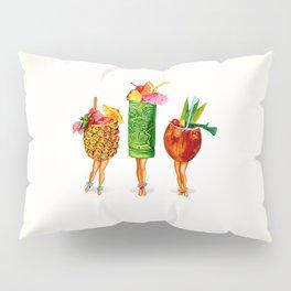 Tiki Cocktail Pin-Ups Pillow Sham