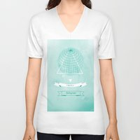 hologram V-neck T-shirts featuring Hologram by A|H Studio & Designs
