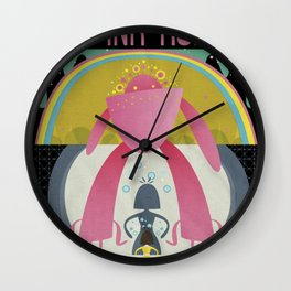 "The Flaming Lips ""YOSHIMI BATTLES THE PINK ROBOTS "" Wall Clock"