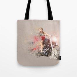 RED RIDER Tote Bag