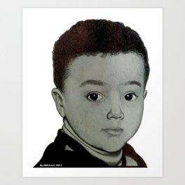 O menino Art Print
