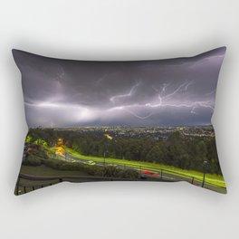 Summer Storm Over Brisbane Rectangular Pillow
