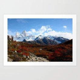 Patagonia 4 Art Print