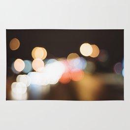 Street Light Bokeh Rug
