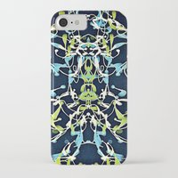 art nouveau iPhone & iPod Cases featuring Nouveau by Tina Carroll