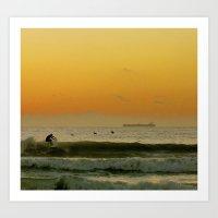 Sunrise at Cocoa Beach Art Print