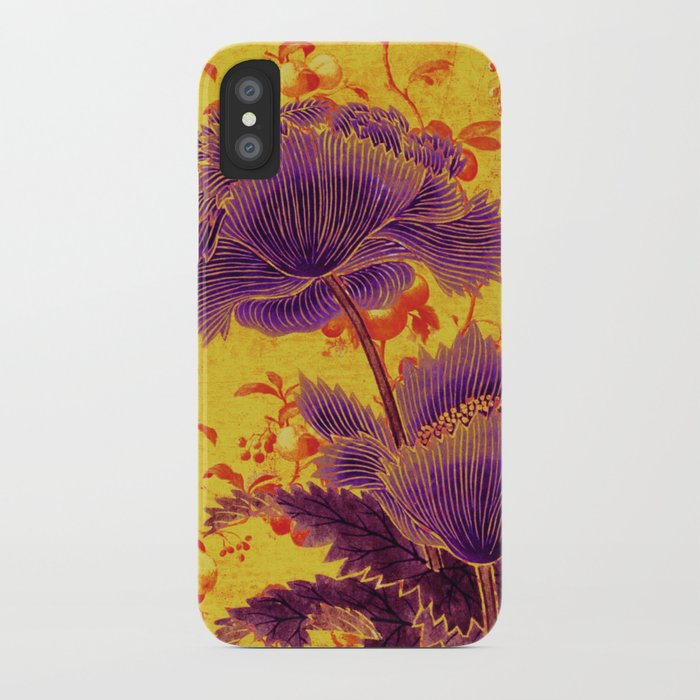 floral chinoiserie iPhone Case