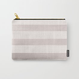Rose Gold and Pink Stripes Pattern Carry-All Pouch