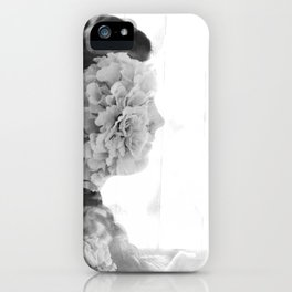flower face iPhone Case