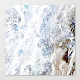 Earth Marble Canvas Print