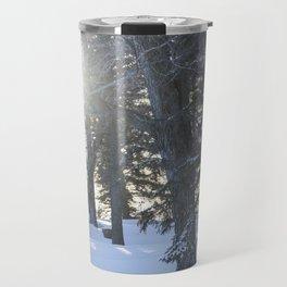 Sunlit Spruce Travel Mug