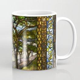 Louis Comfort Tiffany - Decorative stained glass 14. Coffee Mug