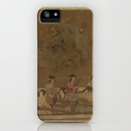 Ming Su Hui and Her Verse Puzzle ,16th century iPhone Case