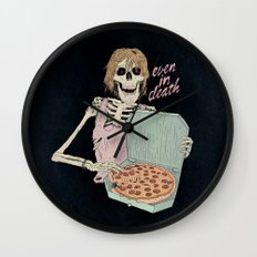 Even In Death Wall Clock