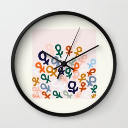 L'ART DU FÉMINISME Wall Clock