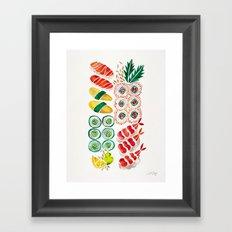 Sushi Collection Framed Art Print