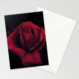 Gothic Rose Print Stationery Cards