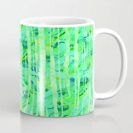 Green Wood Print Coffee Mug