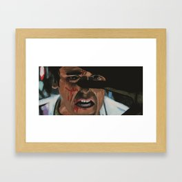 Poe Dameron Framed Art Print