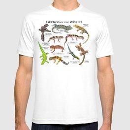Geckos of the World T-shirt