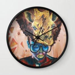Giraffe Me Centric Wall Clock
