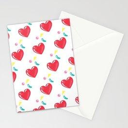 heart hearts Stationery Cards