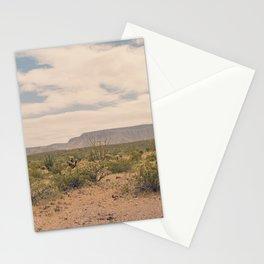 Down Desert Roads II Stationery Cards