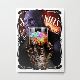 Thanos; Infinity Ices Metal Print