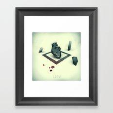 Living Framed Art Print