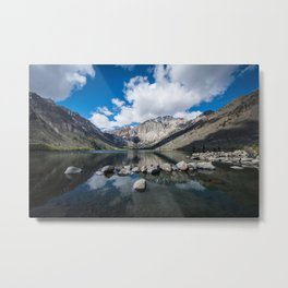 Convict Lake in the springtime in California Metal Print