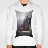 transformers Hoodies featuring transformers  , transformers  games, transformers  blanket, transformers  duvet cover by ira gora