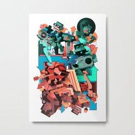 The Bronx Metal Print