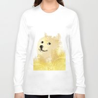 doge Long Sleeve T-shirts featuring Doge by EtOfficina