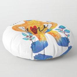 Sasquatch Loves You Floor Pillow