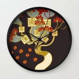 TREE OF PROSPERITY Wall Clock
