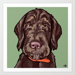 Portrait of Otis Art Print